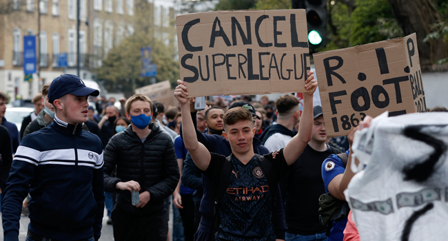 Chelsea, Manchester City To Pull Out Of Super League: Reports
