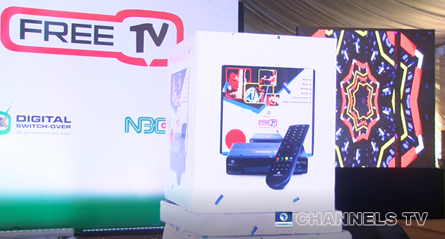 The Federal Government launched free digital set-top boxes in Lagos on April 29, 2021.