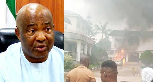 Gunmen Attack Governor Uzodinma's House In Imo