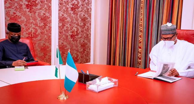 Medical Trip: Buhari Resumes, Receives Briefings From Osinbajo