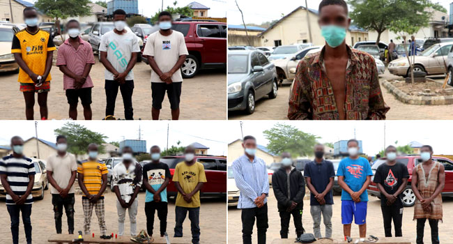 Police Arrest 17 Suspected Cultists In Abuja