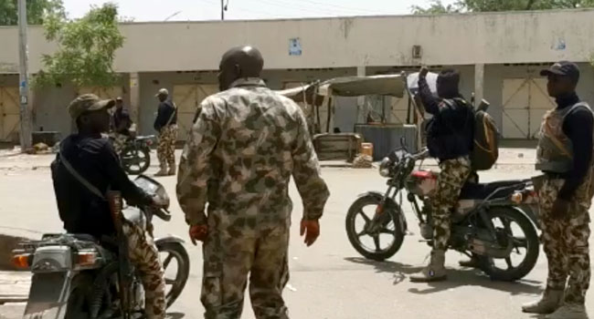 """Army says reports that Boko Haram terrorists have overrun and are in control of Damasak is """"blatant misinformation"""
