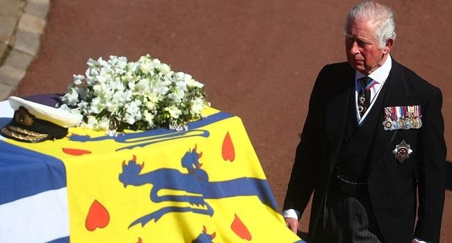Funeral Service Held For Queen Elizabeth II's Husband, Prince Philip
