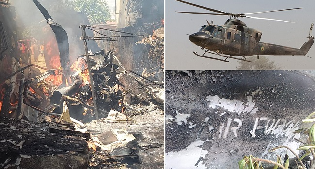 Zimbabwe Air Force Helicopter Crash Kills Child And 3 Crew
