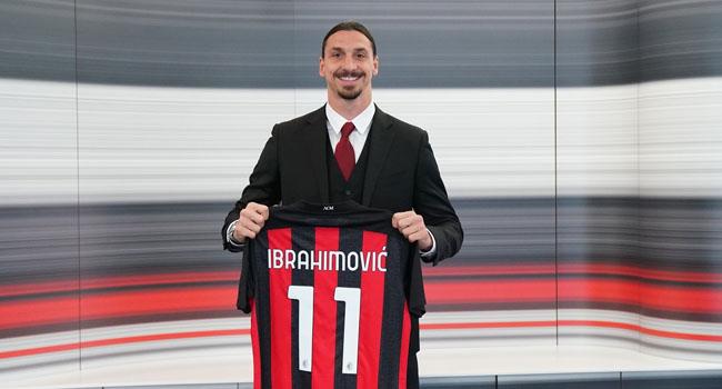 Ibrahimovic Signs New AC Milan Deal To Take him Past 40th Birthday