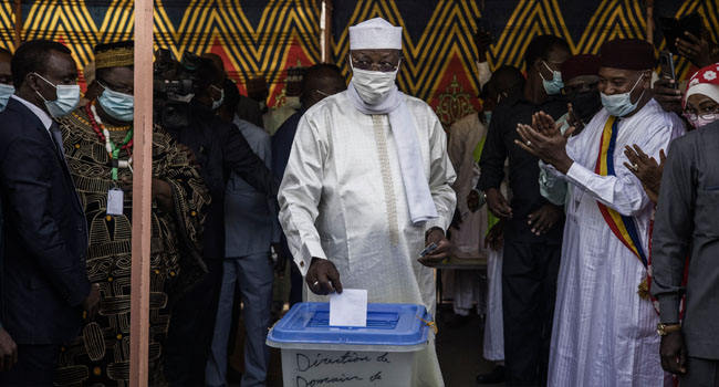 Chad Votes With 68-Year-Old Deby Set To Extend 30-Year Rule