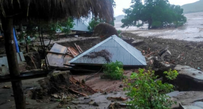 At Least 90 Dead, Dozens Missing In Indonesia Timor Floods