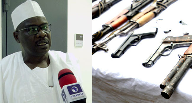 Most Arms Used By Insurgents Were Stolen From The Armed Forces – Senator Ndume