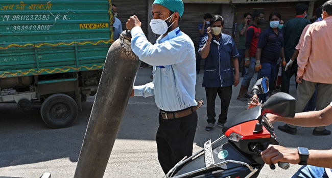 COVID-19: New Delhi Extends Lockdown As India Cases Hit New Record