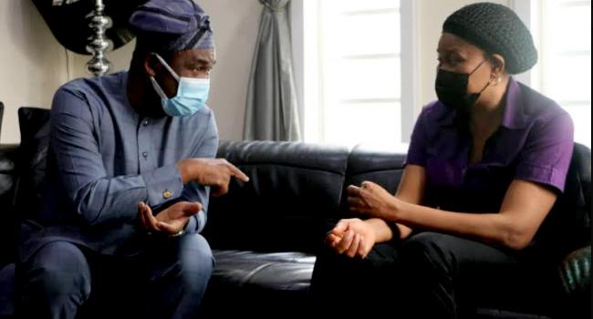 Lagos Deputy Governor Visits Late Odumakin's Family, Describes Him As Patriotic Nigerian