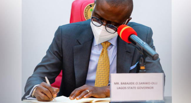 Sanwo-Olu Assents To Bill Regulating Lotteries, Online Gaming Services In Lagos