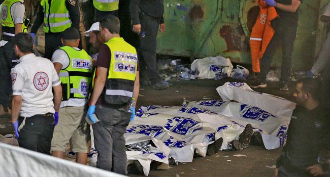 44 Die In Israel Pilgrimage Site Stampede - Vantage News Nigeria