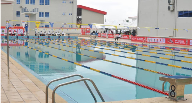 Nigeria's Olympic swimmer, Rachael Tonjor has led Team Edo to win a gold medal