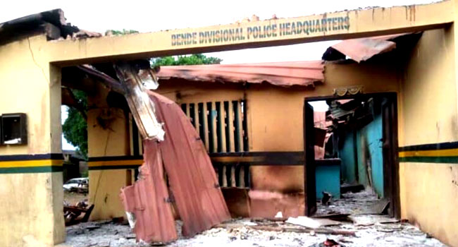 Two Policemen Injured As Hoodlums Attack Second Abia Divisional HQ In Four  Days – Channels Television