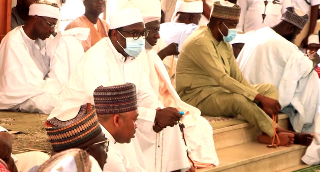 Governor Bello, Others Hold Special Prayer For Security In Niger