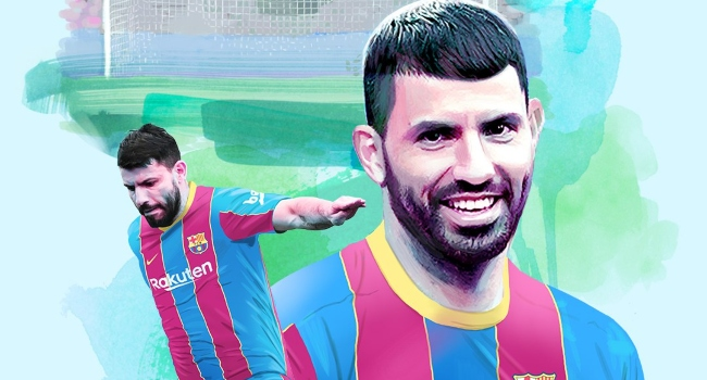 Barcelona Sign Sergio Aguero On Two-Year Deal