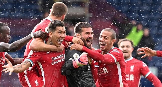 Goalkeeper Alisson Scores Winner As Liverpool Beat West Brom