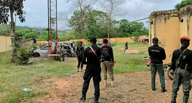 Gunmen Attack Anambra Vigilante Office, Police Station