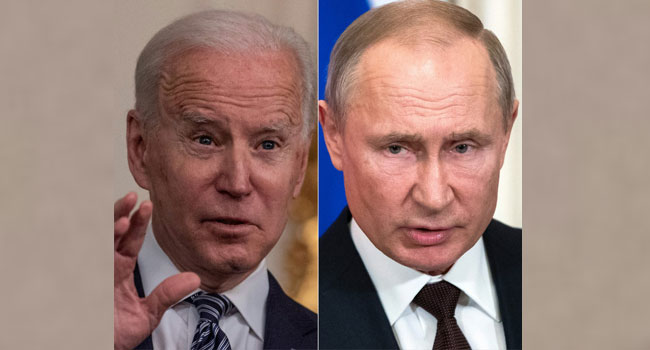 Biden Says To Push Putin At Summit To Protect Human Rights