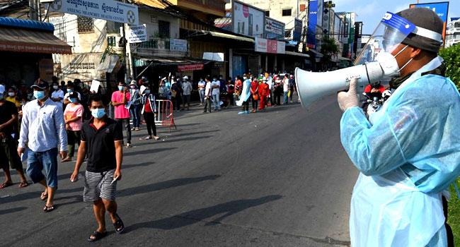 Cambodia Bans Media Coverage From Covid Lockdown 'Red Zones'