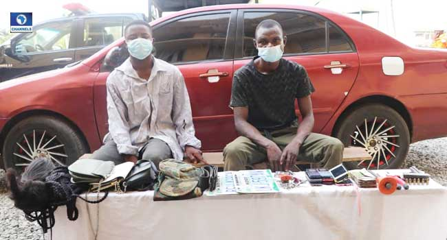 Six Suspected Armed Robbers Arrested In Abuja