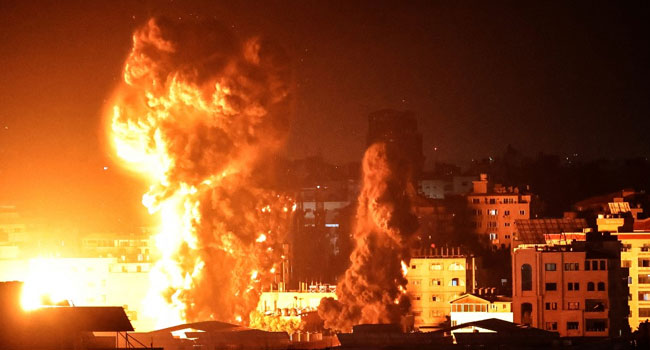 Israel Launches New Strikes On Gaza, More Than 200 Dead In A Week
