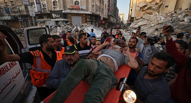 Gaza Wounded Taken To Egypt For Medical Treatment