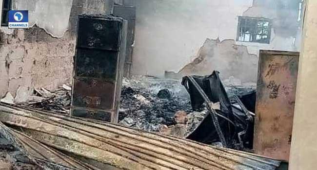 Fire Guts INEC Office In Abia