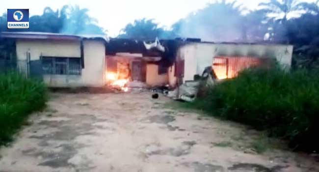 Fire Razes INEC Office In Akwa Ibom