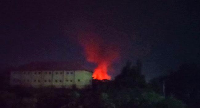 Gunmen Burn INEC Office In Anambra
