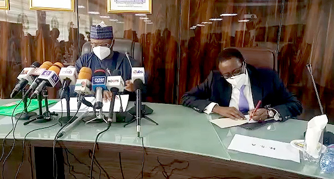 INEC Chairman Holds Emergency Meeting With Security Agencies