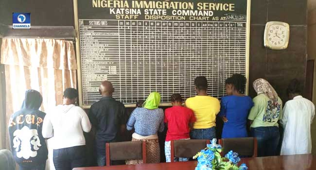Immigration Rescues 11-Month-Old Baby, Nine Other Victims In Katsina