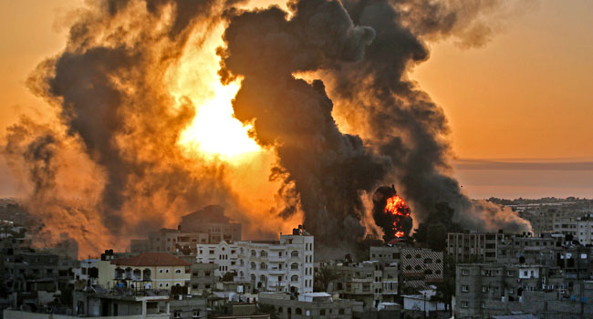 Fears Of 'Full-Scale War' As Israel-Palestinian Clashes Kill 56