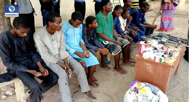 Quack Medical Doctor, Nine Suspected Criminals Arrested In Katsina
