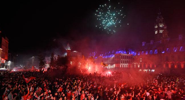 Police Arrest Seven In Lille Title Celebrations