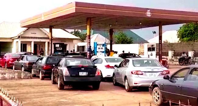 Panic Buying In Kaduna As Long Fuel Queues Surface