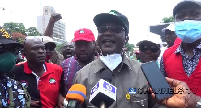 Armed Thugs Disrupt NLC Protest In Kaduna, Wabba Accuses El-Rufai