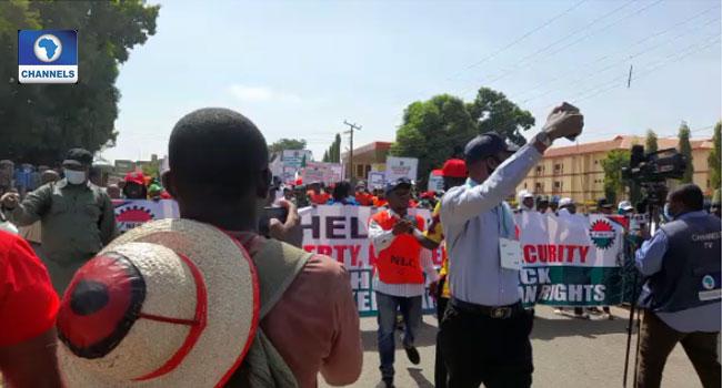 Kaduna Airport Shut, Fuel Queues Surface As NLC Protests Sack Of Members