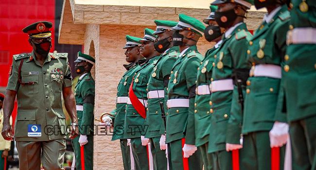 New COAS Maj. Gen Yahaya Assumes Office