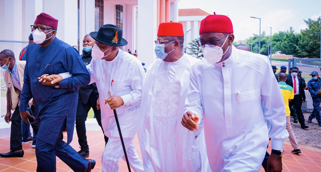 Southern Governors Meet In Lagos, Discuss Open Grazing,