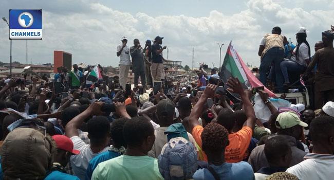 Sunday Igboho Involved As Osun Youths Agitate For Yoruba Nation