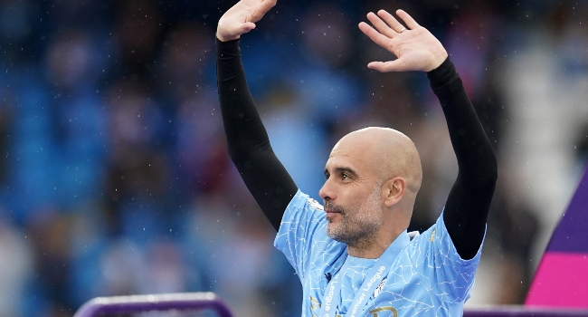 Guardiola Wins England's Manager Of The Year Award