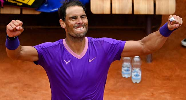 Italian Open: Nadal Beats Zverev To Reach Semi-Finals