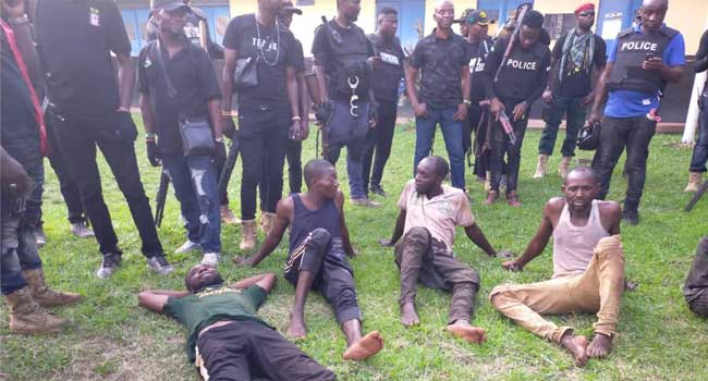 Police Kill Three Suspected Kidnappers, Rescue Seven Kidnap Victims