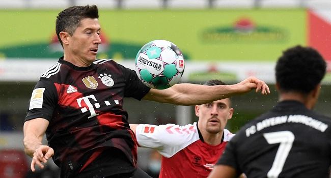 Robert Lewandowski Equals Bundesliga Record With 40th Goal This Season