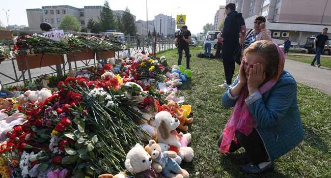 Russia Mourns Students, Staff Killed In Kazan School