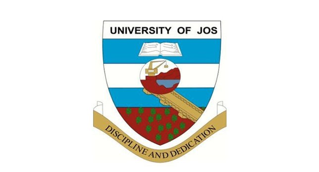 A photo of an emblem of the University of Jos.