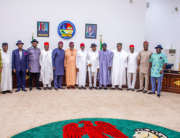 Southern state Governors pose for a photograph in Asaba, Delta State on May 11, 2021. Credit: Seyi Makinde/Twitter