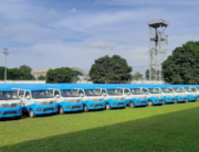 The Lagos State Government launched 300 first and last-mile buses on May 18, 2021.
