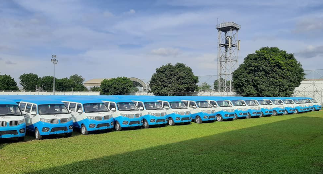 Lagos Govt Launches First And Last-Mile Buses To Replace 'Okada'